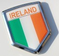 Ireland Flag Crest Car Badge