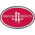 NBA Houston Rockets Color Auto Emblem