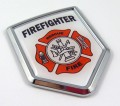 Firefighter Crest 3D Adhesive Car Badge