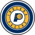 NBA Indiana Pacers Color Auto Emblem