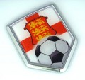 England Soccer 3D Car Badge