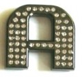 Crystal Letters BLACK A