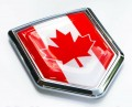 Canadian Flag Crest Car Badge