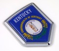 Kentucky Flag Crest Car Badge