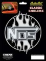 Embossed NOS Decal