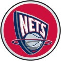 NBA New Jersey Nets Color Auto Emblem